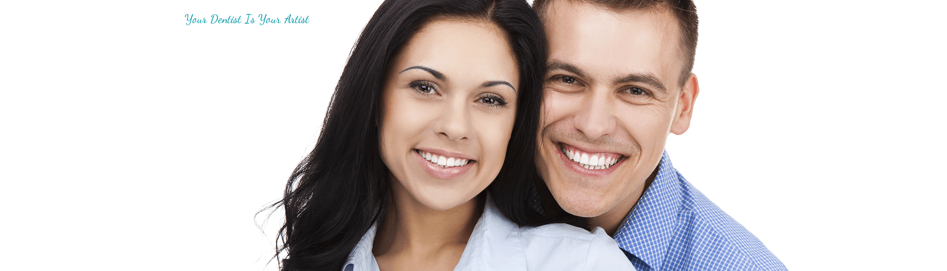 Top dentist in Brentwood CA helped to have beautiful smile of young couple