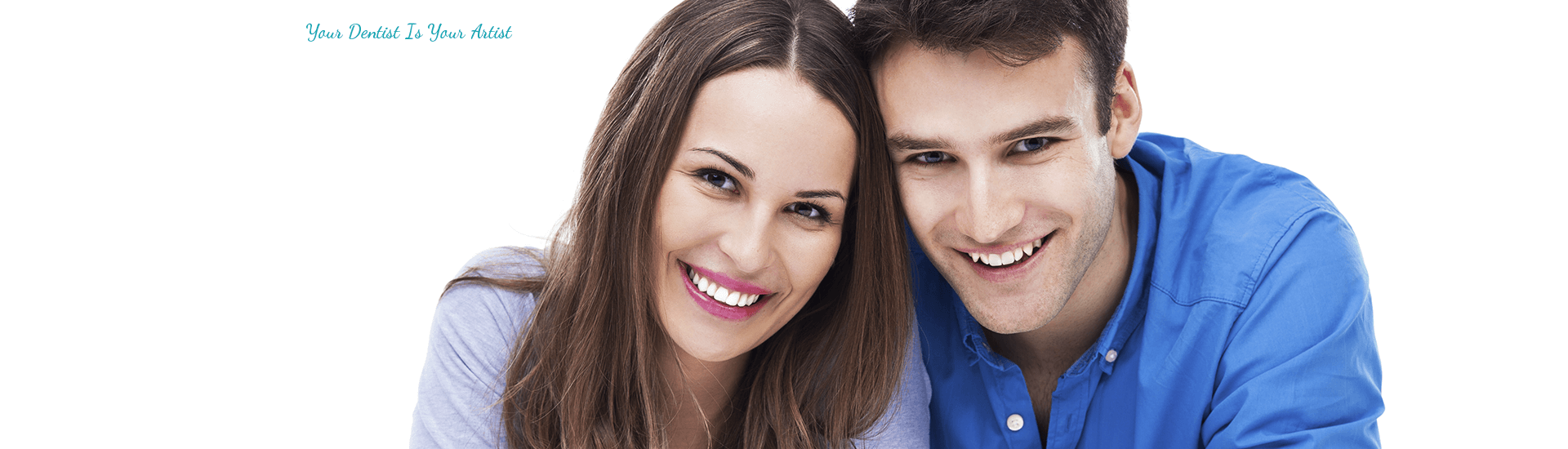 A Happy young couple 2 at Dentist Brentwood