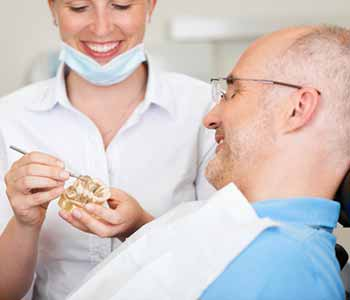 Dr. Jamil Alkhoury and the team at Brentwood Dental Center provide solutions that can be used to replace missing teeth,