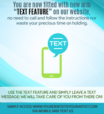 Dentist Brentwood - Text Feature banner