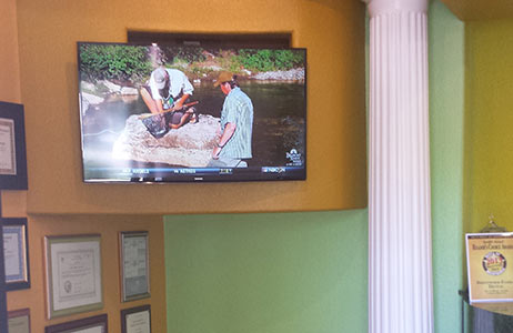 TV at Dentist Brentwood