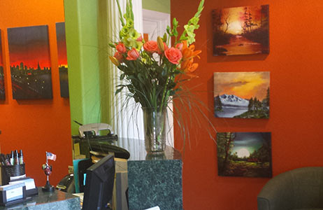 Dentist Brentwood The Reception Room 1